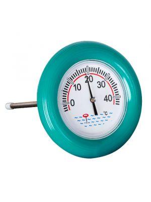 Termometro galleggiante per piscina con anello in gomma