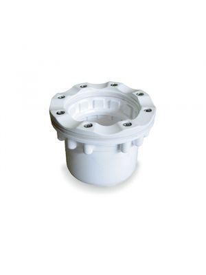Bocchetta di aspirazione in PVC per piscina a sfioro in liner - Astralpool