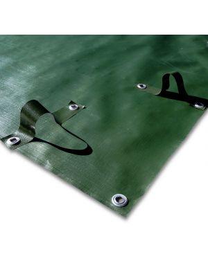 Copertura invernale 10 x 17,5 m per piscina 8 x 16 m - predisposto per tubolari