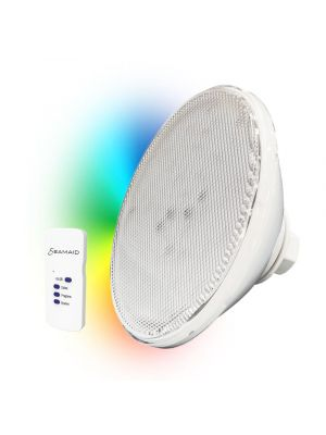 Seamaid 502679 Lampada piscina PAR56 Ecoproof, 90 Led RGB con telecomando, 16W