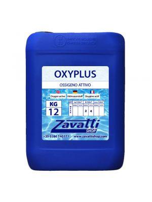 12 Lt Oxyplus - Ossigeno attivo per piscine