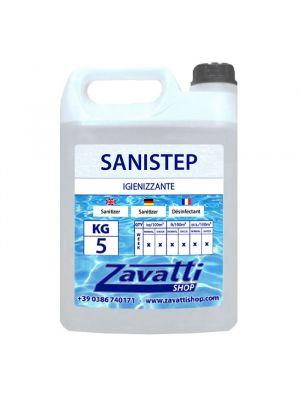 5 Lt Sanistep - igienizzante antimicotico per piscine