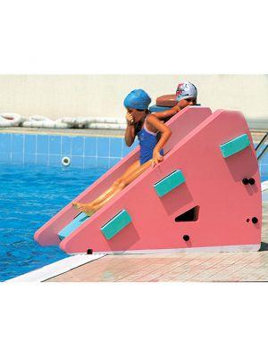 Scivolo espanso per piscina 160 x 60 x h 100 cm - Okeo