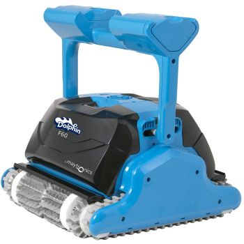 Robot pulitore per piscina Dolphin F60 gyro bluetooth e terza spazzola attiva rotante
