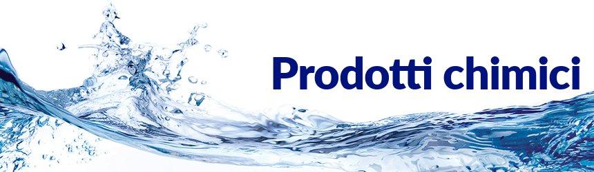 Prodotti chimici certificati e di qualità per la disinfezione ed il trattamento dell'acqua della piscina pubblica o residenziale