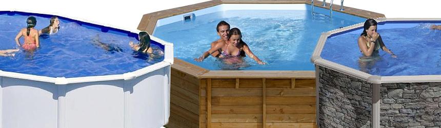 piscine fuoriterra in acciaio gre