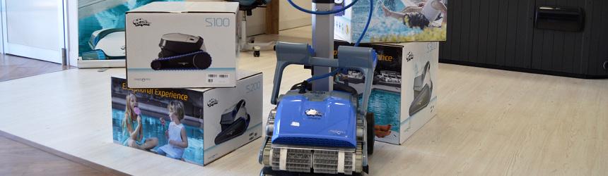 robot pulitori elettrici per piscina ex demo showroom