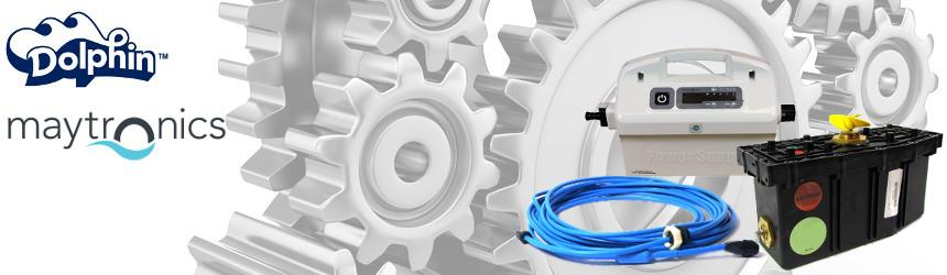 Ricambi elettronici per robot piscina Dolphin Maytronics box, cavo, trasformatore