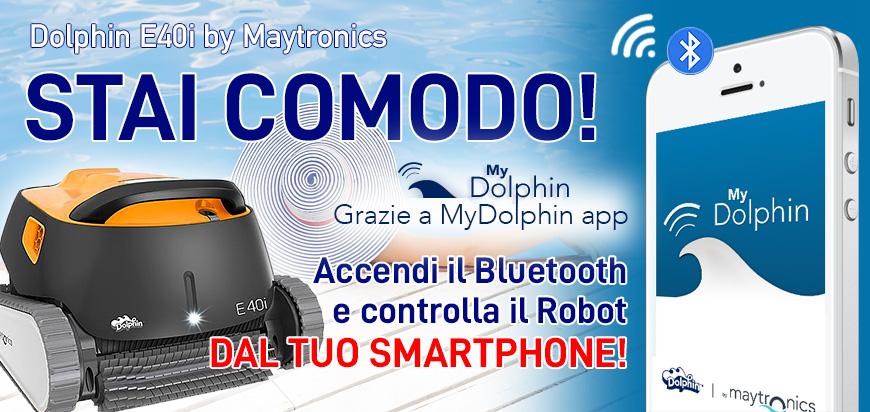 Dolphin E40i app Bluetooth