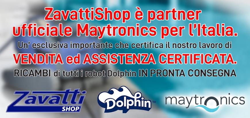 ZavattiShop è centro assitenza ufficiale Maytronics