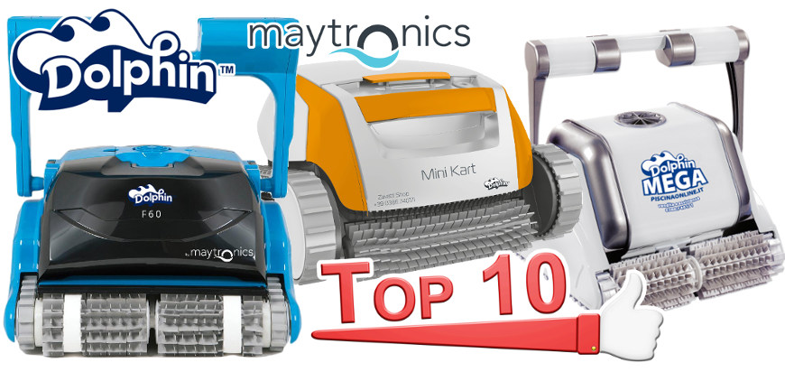 Top 10 robot per piscina Dolphin by Maytronics