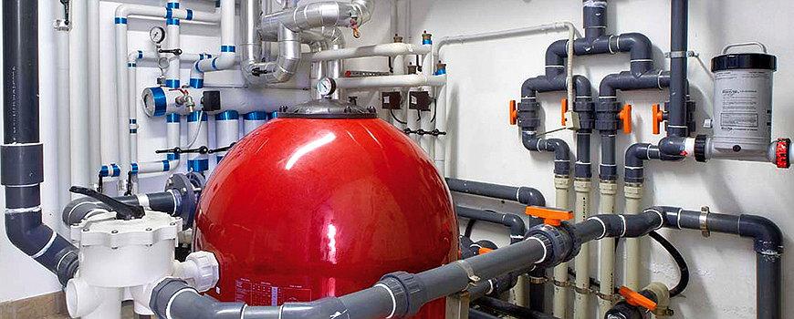 Impianti e accessori per filtrazione piscina