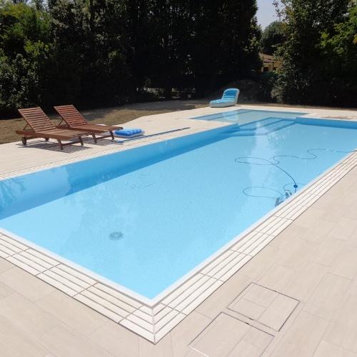 Accessori per completamento esterno piscina for Riparare piscina