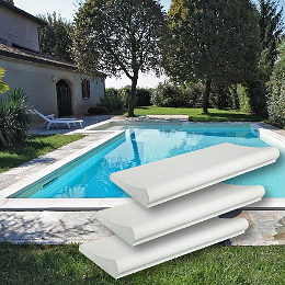 bordi per piscina interrata