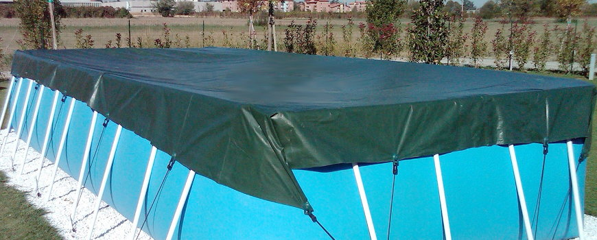 Copertura piscina fuori terra ba46 regardsdefemmes for Teli per coprire piscine fuori terra