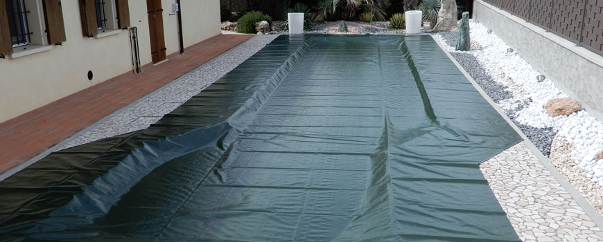 Coperture invernali base per piscina interrata