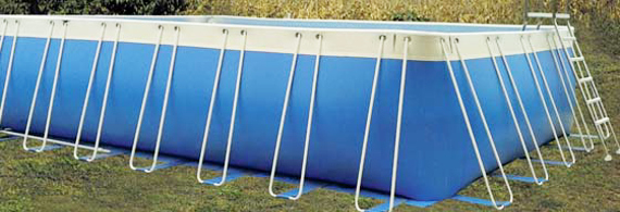 Piscine fuoriterra morbide in PVC - h 140 cm