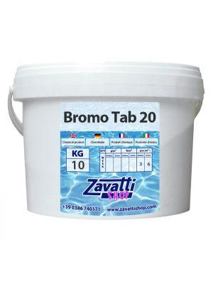 10 Kg Bromine - bromo in pastiglie per piscine e spa