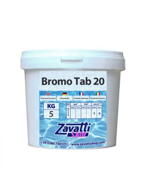 5 Kg Bromine - bromo in pastiglie per piscine e spa