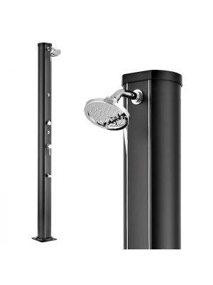 Doccia solare Nettuno - alluminio - due vaporizzatori