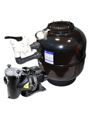 Impianto di filtrazione completo Fiberpool 15 MC/H con pompa DAB 0,75 cv