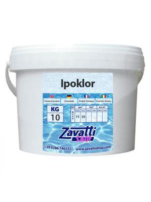 10 kg Ipoklor - ipoclorito di calcio granulare