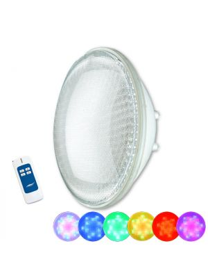Lampada a led High Power multicolor RGB con telecomando Seamaid per piscina PAR56 36 Led 30W standard