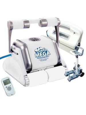 Robot pulitore Dolphin Maytronics Mega per piscina in piastrelle
