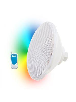 Lampada faro a led RGB Seamaid Ecoproof con telecomando PAR 56 - 270 Led 16W