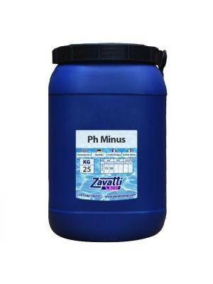 25 Kg Ph Minus - riduttore ph granulare per piscina