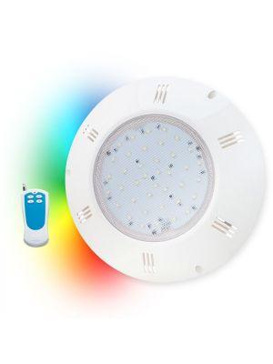 Proiettore piatto universale Seamaid RGB con telecomando PAR56 270 Led 15,9W radiocomando