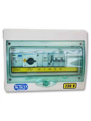 Quadro elettrico per piscina a skimmer 1kw con 1 pompa - Impianto filtrazione piscina prezzo ...