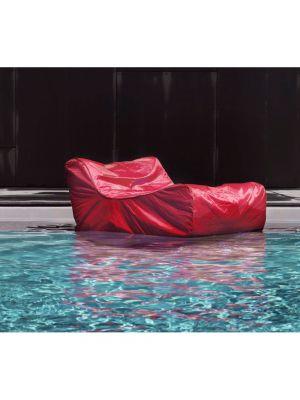 Poltrona galleggiante rossa