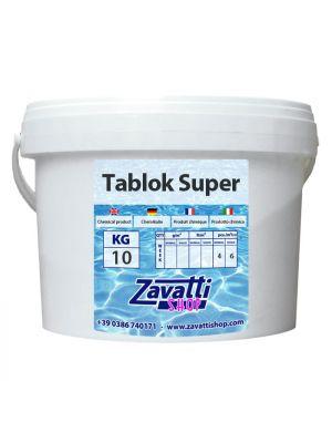 10 Kg Tablok Super - pastiglie multifunzione tricloro per piscina