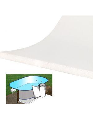 7,5 ml - Materassino di protezione laterale per piscine da interrare