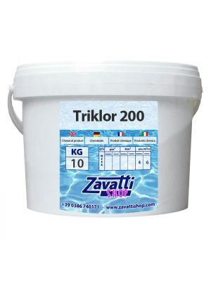 10 Kg Triklor 200 - tricloro in pastiglie da 200 gr