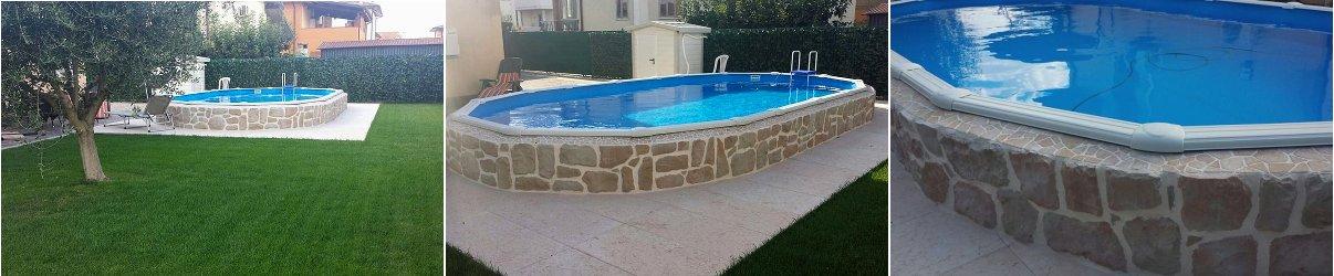 Come personalizzare e rendere unica la tua piscina fuoriterra - Piscina seminterrata prezzi ...
