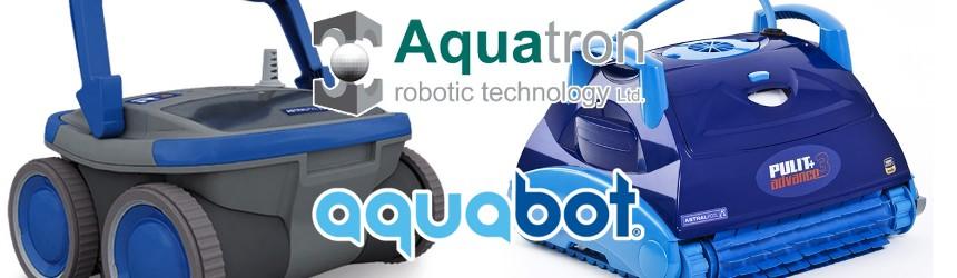 Robot per la piscina Aquabot ed Aquatron