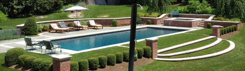 Docce solari per piscina da esterno - Docce per piscine esterne ...
