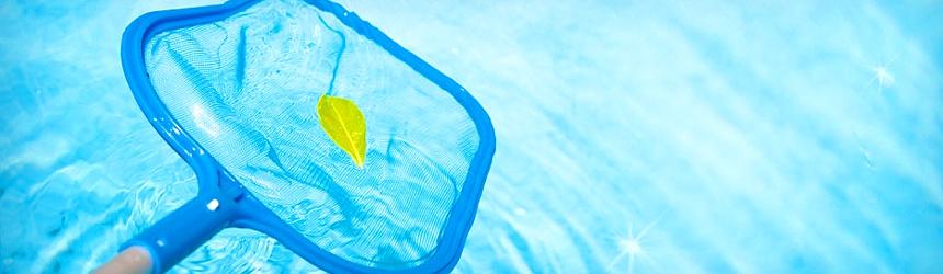 Retini per piscina per mantenere l'acqua libera da foglie e insetti