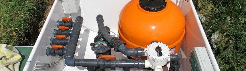 Impianti di filtrazione completi in locale tecnico - Impianto filtrazione piscina prezzo ...