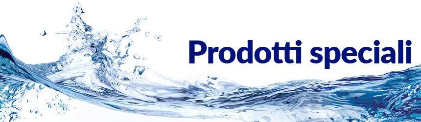 Prodotti chimici speciali per il trattamento dell'acqua della piscina