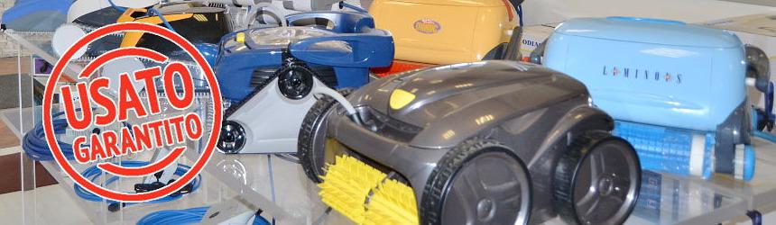 robot pulitori per piscina usati ricondizionati