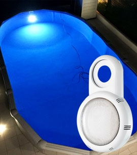 Seamaid poolbeleuchtung für oberirdische pools