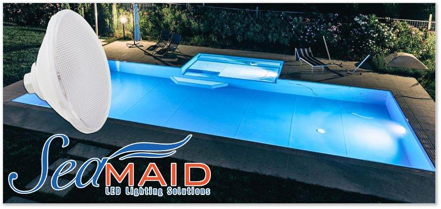 Standard par56 Seamaid led pool lamps