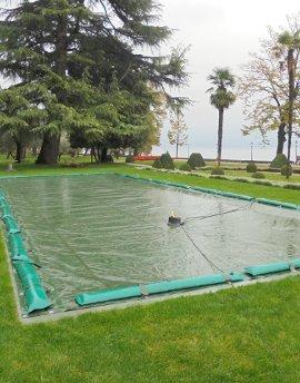 Winterabdeckung für schwimmbad