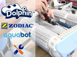 Official assistance for pool cleaners Dolphin Zodiac Aquabot Aquatron Tiger Shark