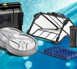 Spare parts and accessories for pool robots