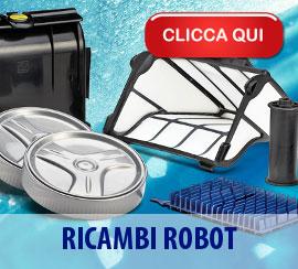 Ricambi e accessori per robot pulitori piscina