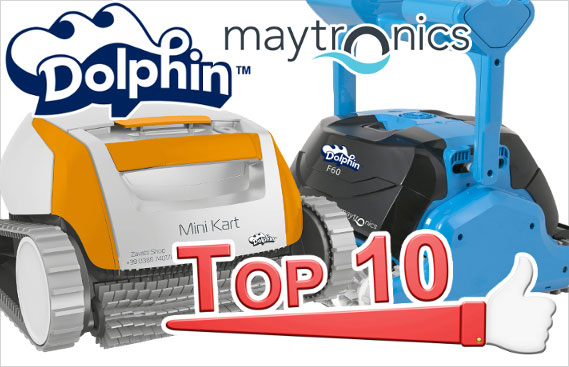 Robot Dolphin by Maytronics Top 10